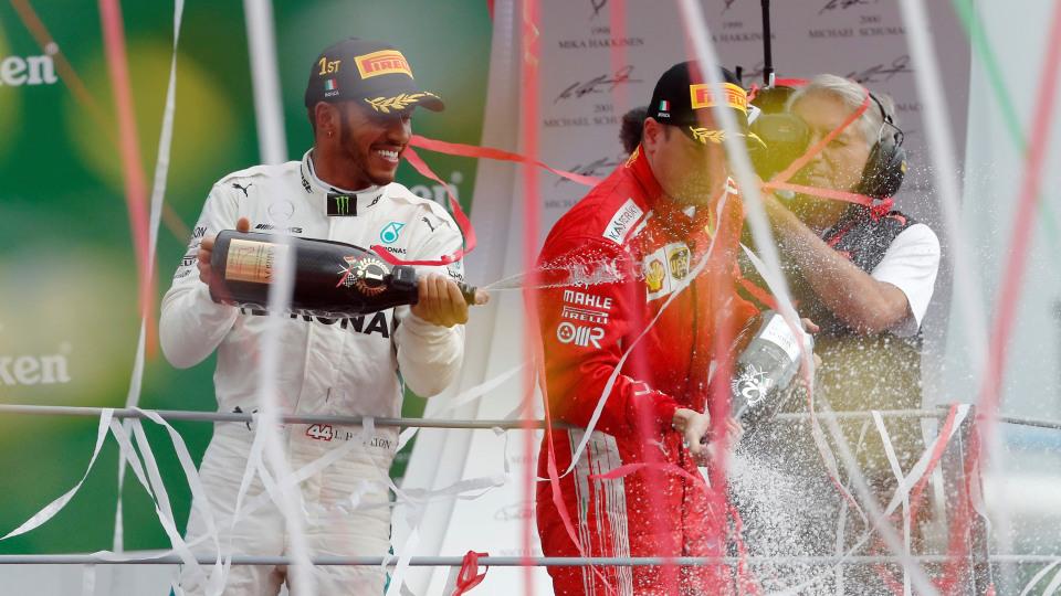 Lewis Hamilton won the 2018 Italian GP.