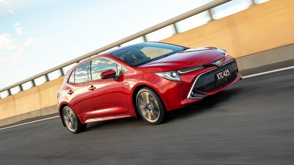 Toyota plots hybrid Corolla hot hatch
