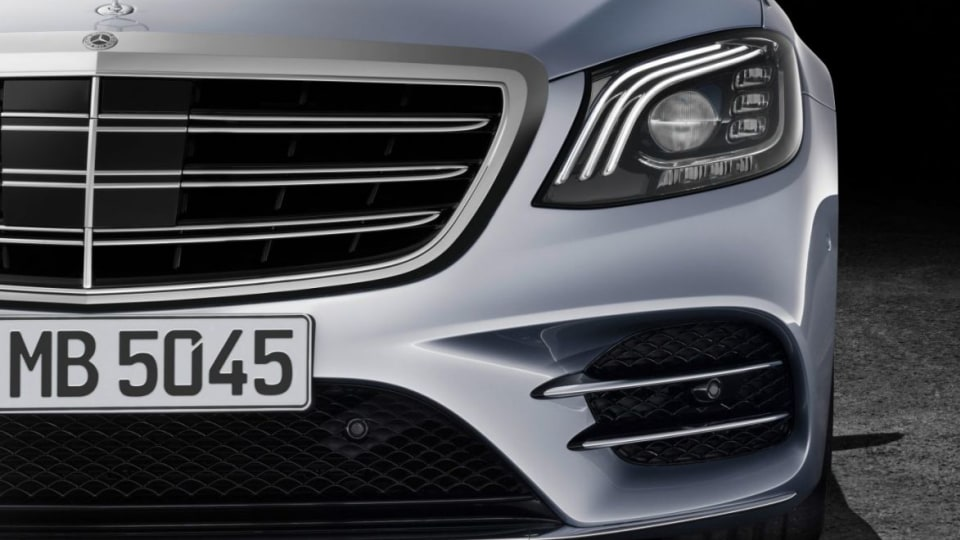 Mercedes-Benz S-Klasse; Langer Radstand; 2017; Exterieur: Diamantsilber; AMG Line; Interieur: Leder Magmagrau/Espressobraun // Mercedes-Benz S-Class; long wheelbase; 2017; exterior: diamond silver; AMG line; interior: leather magma grey/espresso brown 201