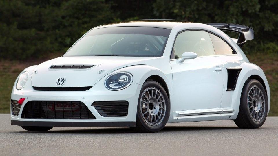 Volkswagen Beetle Andretti Global Rally Cross Racer Unveiled