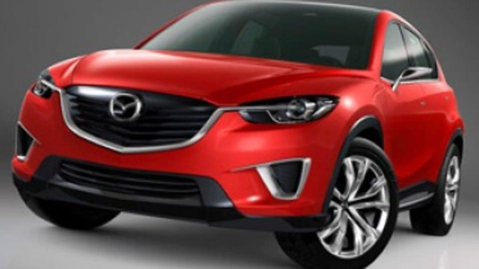Mazda's compact CX-5 SUV revealed