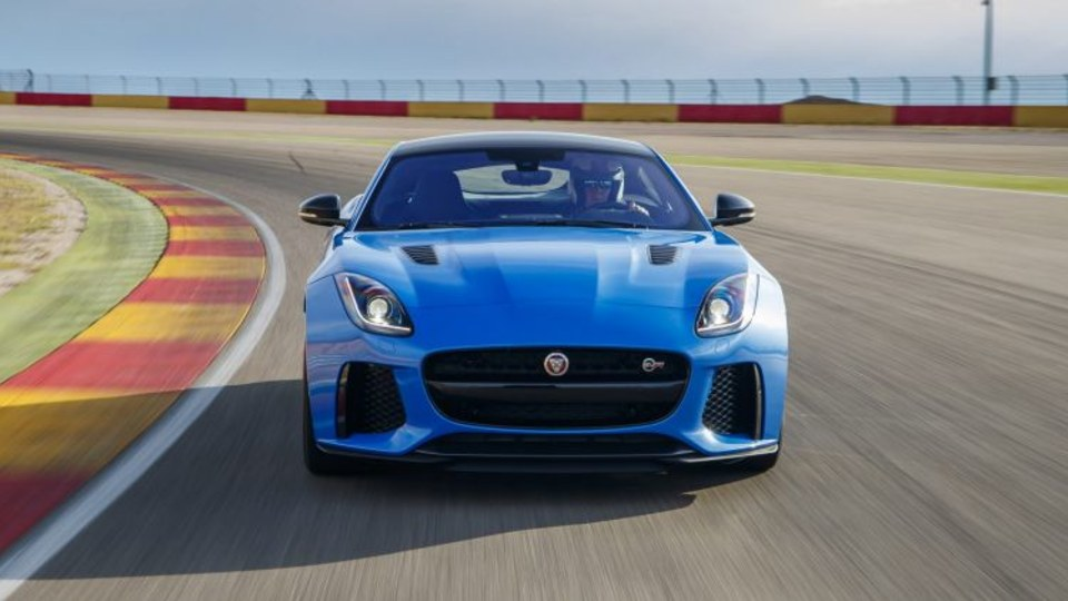 Jaguar F-Type SVR built by Special Vehicle Operations.