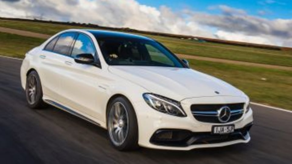 Performance sedan comparison: Mercedes-AMG C63 S.