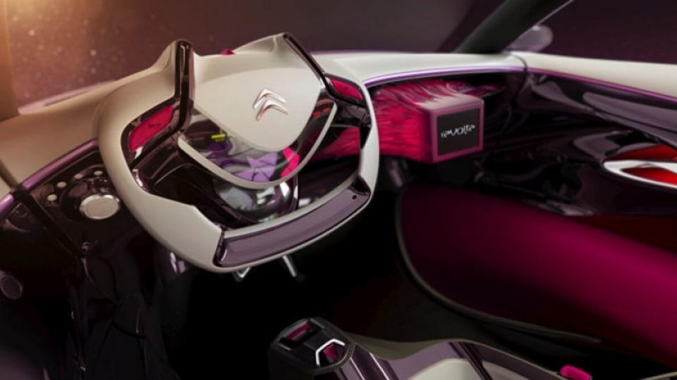 Citroen Revolte concept shows one possible interior design direction.    Picture supplied.
