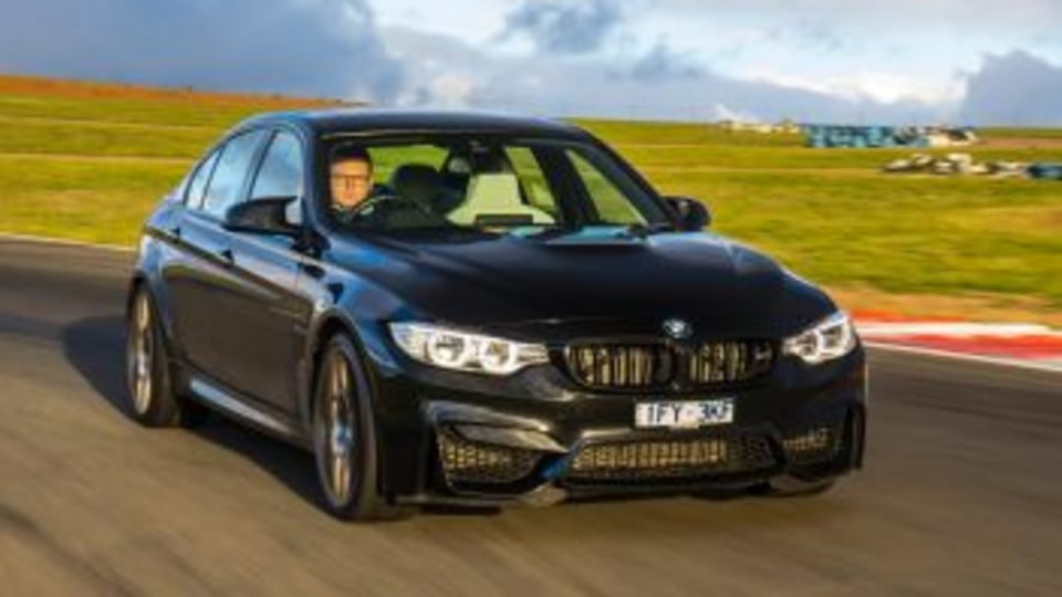 Performance sedan comparison: BMW M3.