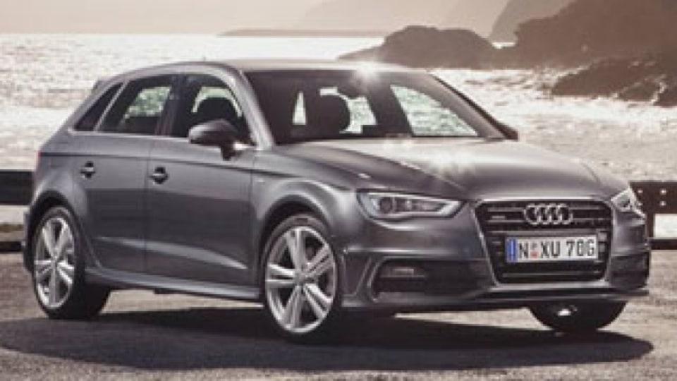 Audi A3 Sportback car pool