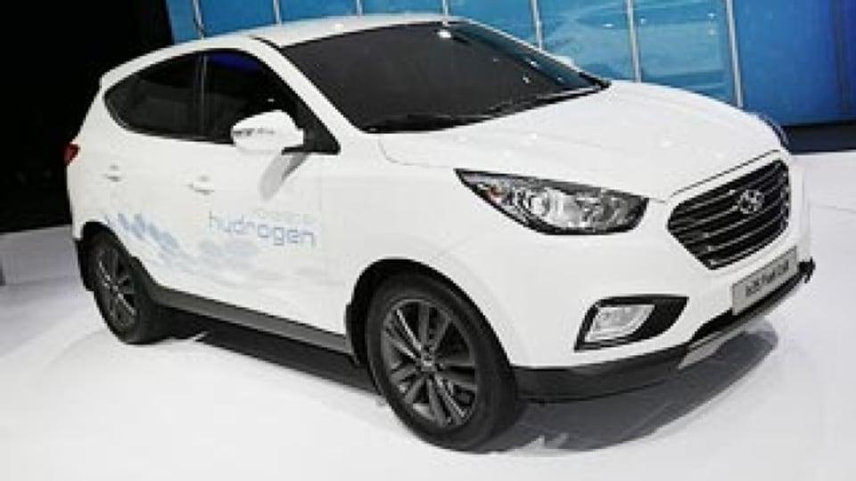 Hyundai first with hydrogen