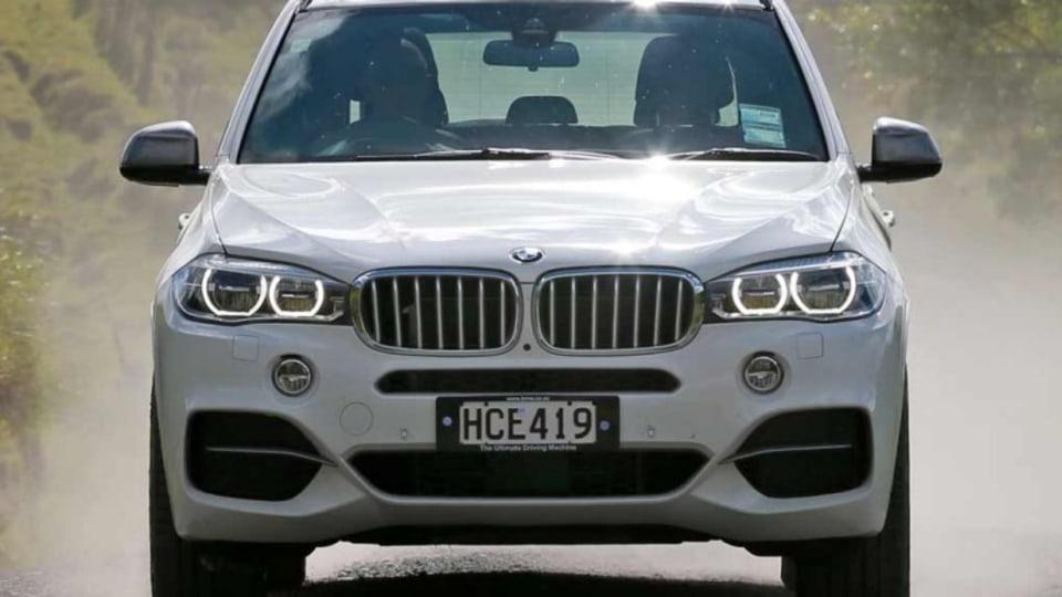 BMW X5 M50d.