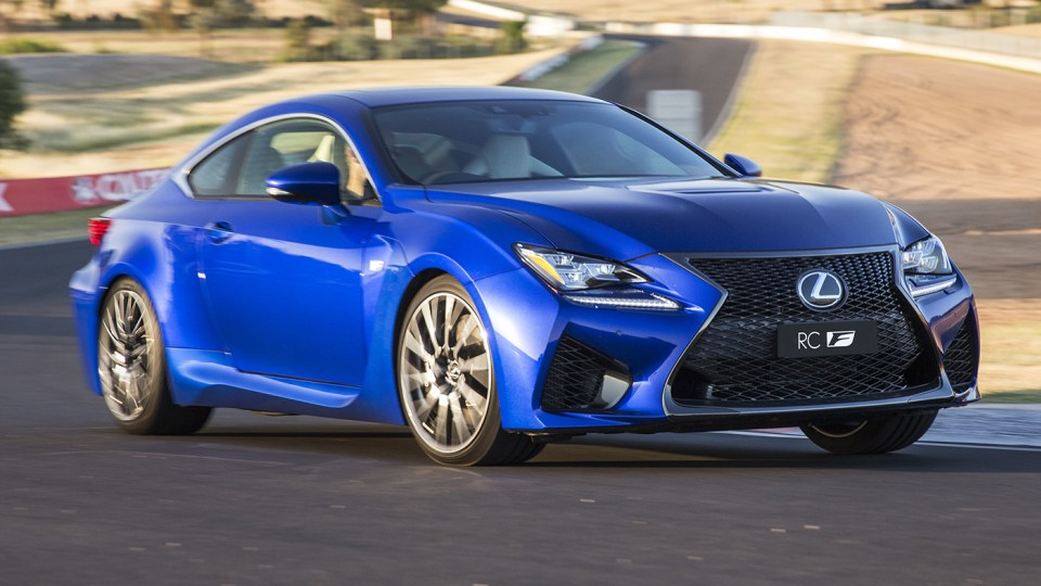 Lexus RCF: $133,500 Bruiser In Australia From February