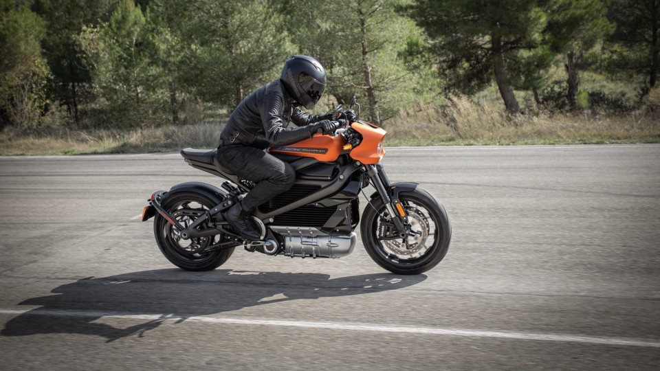 Harley-Davidson unveils electric Livewire motorcycle