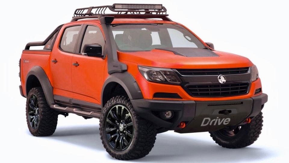 Coming Soon: Holden Colorado Xtreme
