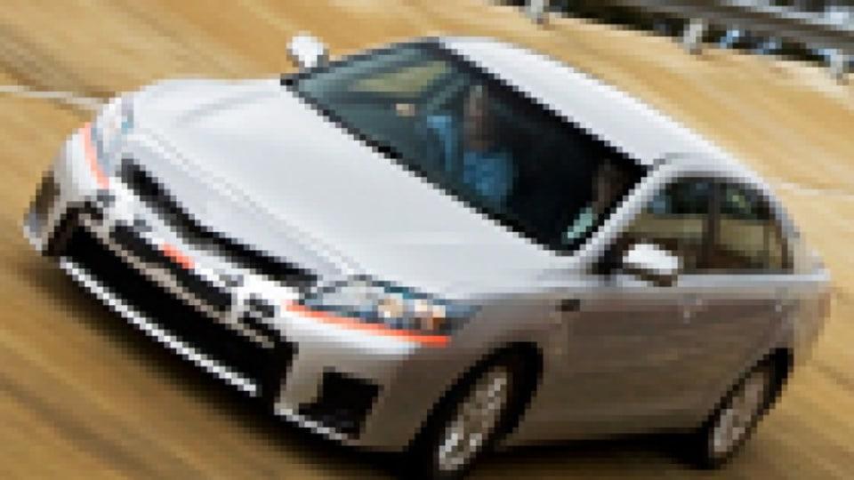 Toyota Hybrid Camry (pre-production)