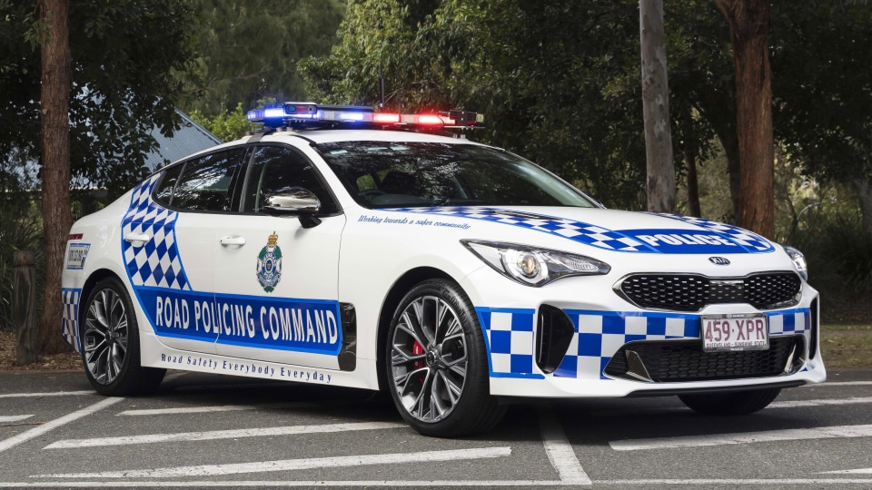 QLD Police choose Kia Stinger.