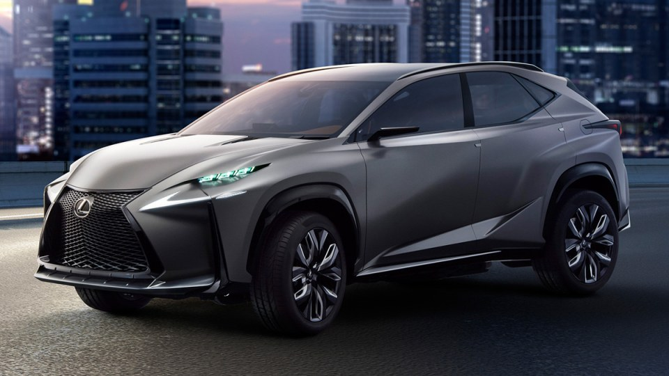 Lexus Confirms 2.0 Litre Turbo To Debut With LF-NX Concept In Tokyo