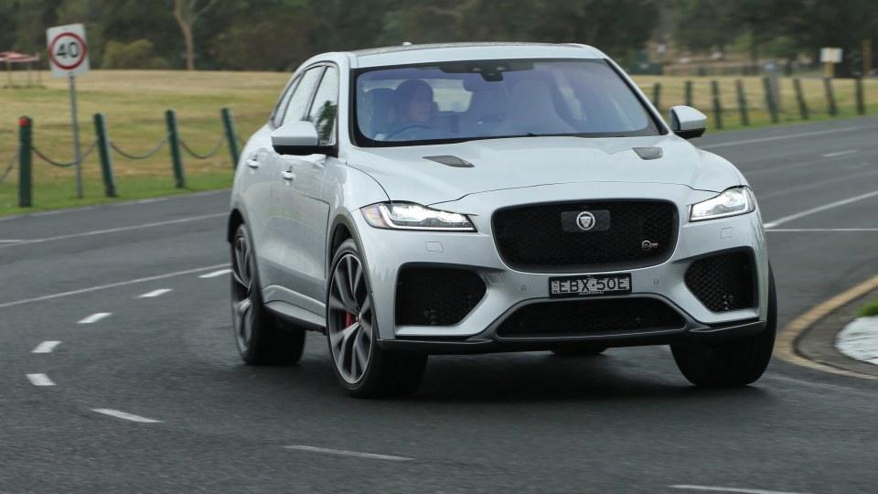 2020 Jaguar F-Pace SVR review