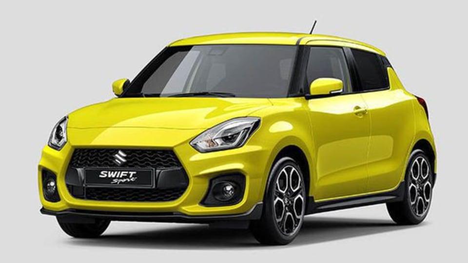 2018 Suzuki Swift Sport Heading To Frankfurt Motor Show