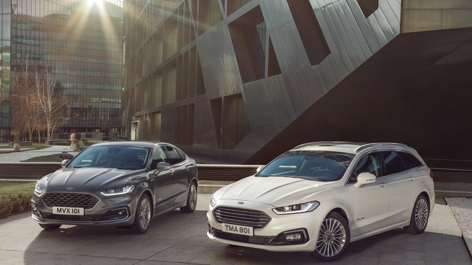 Ford reveals updated Mondeo