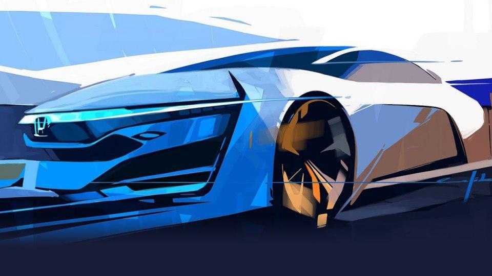 Honda Teases New FCEV Concept
