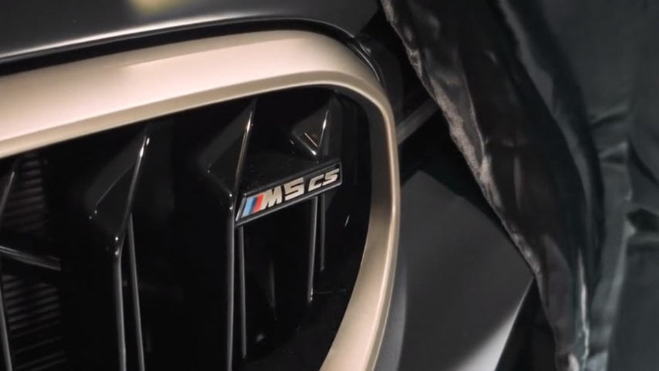 2021 BMW M5 CS teased, January 2021 debut confirmed