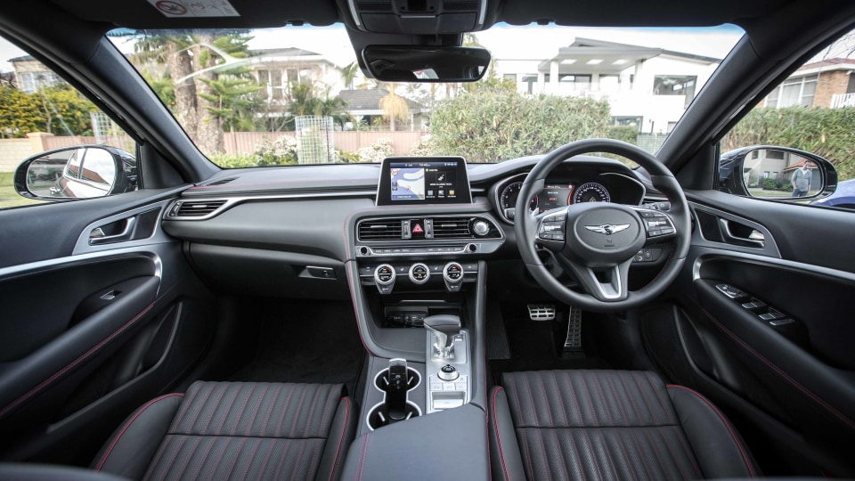 2019 Genesis G70 3.3T Sport review-0