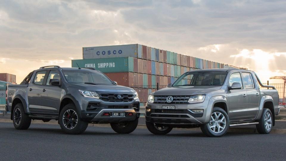 HSV SportsCat+ and Volkswagen Amarok V6 Ultimate