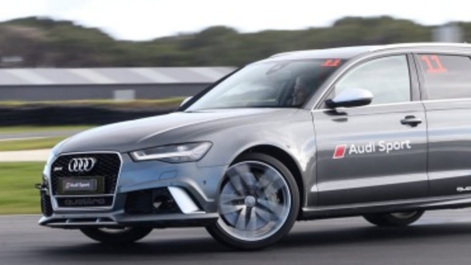 2015 Audi RS6 at Phillip Island
