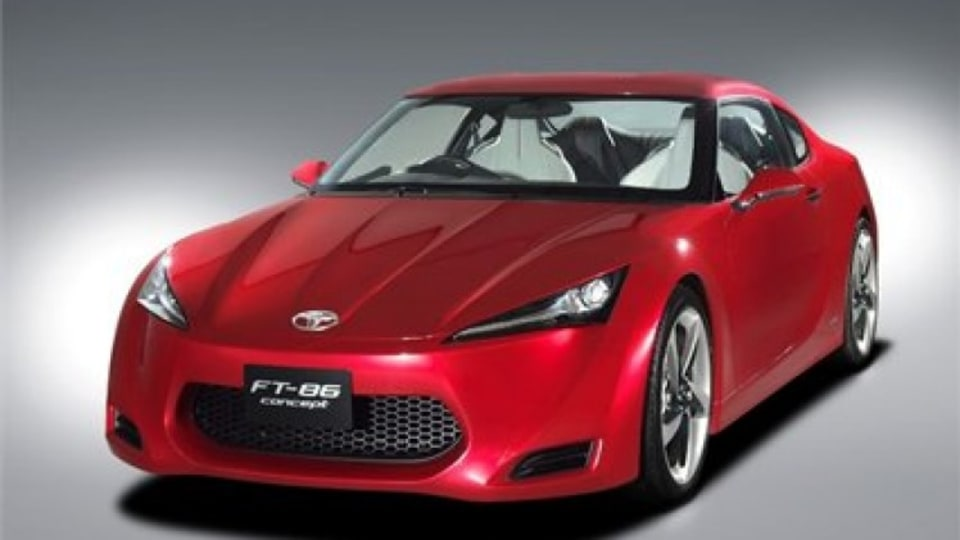 2009 Toyota FT-86 coupe concept