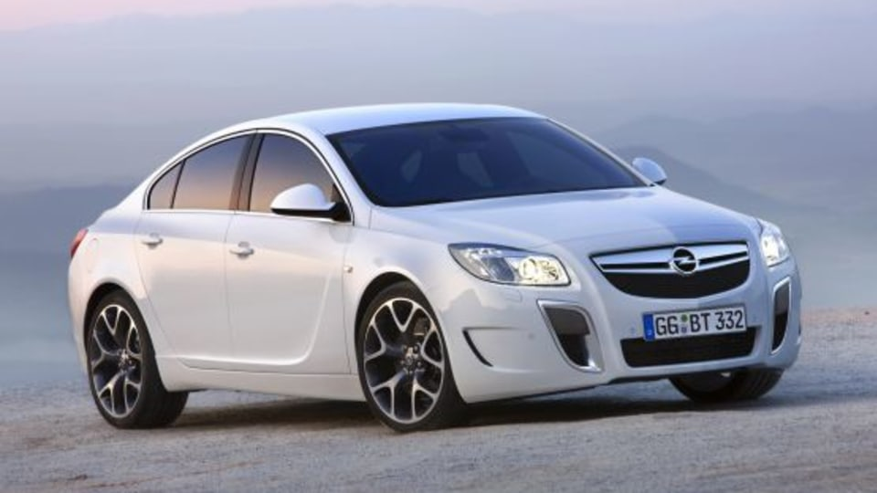 2009 Opel Insignia OPC First Official Images And Details