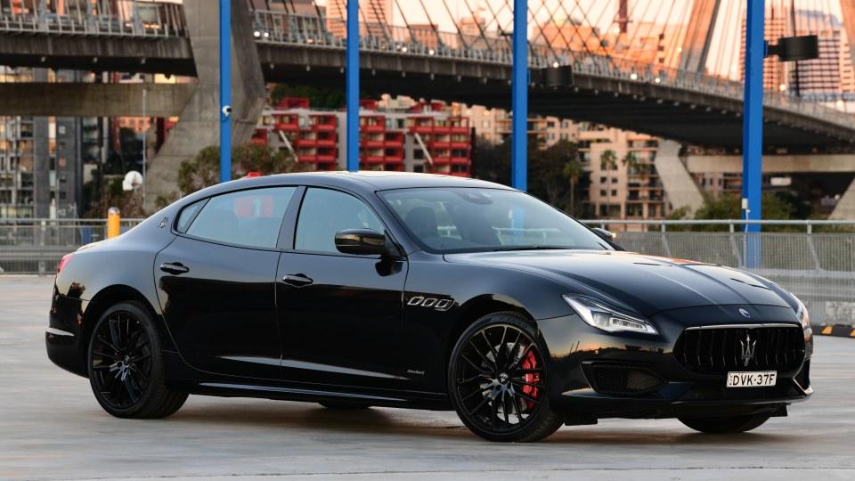 Maserati Quattroporte GTS GranSport Nerissimo Edition