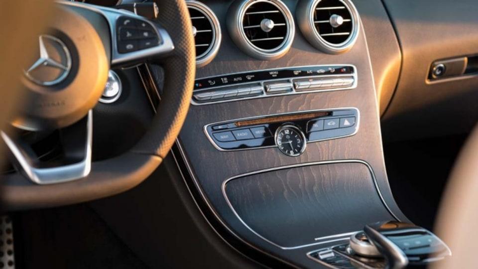 Mercedes-Benz C-Class wagon.