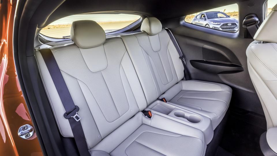 2018 Hyundai Veloster Turbo.