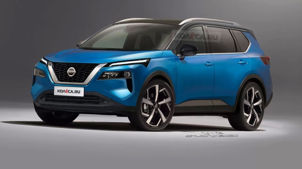 2021 Nissan X-Trail: Speculative renderings surface