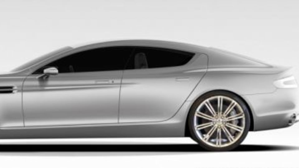 First Official 2010 Aston Martin Rapide Images Released