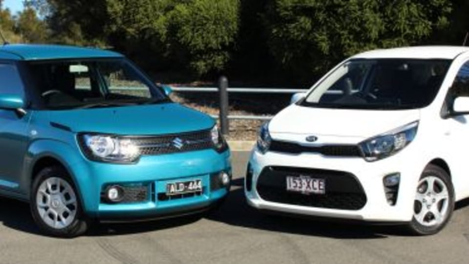 Kia Picanto v Suzuki Ignis GL comparison review