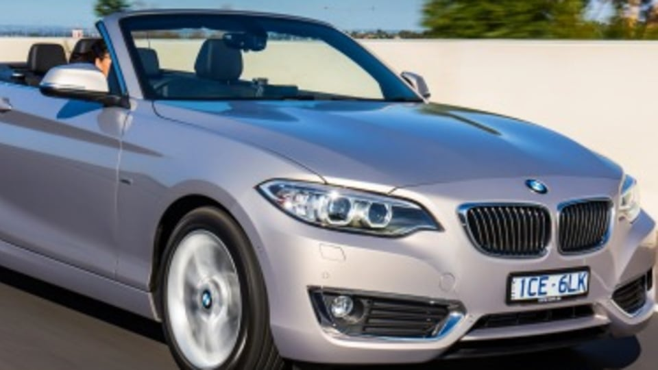 Road test: BMW 220i Convertible a spritely cruiser