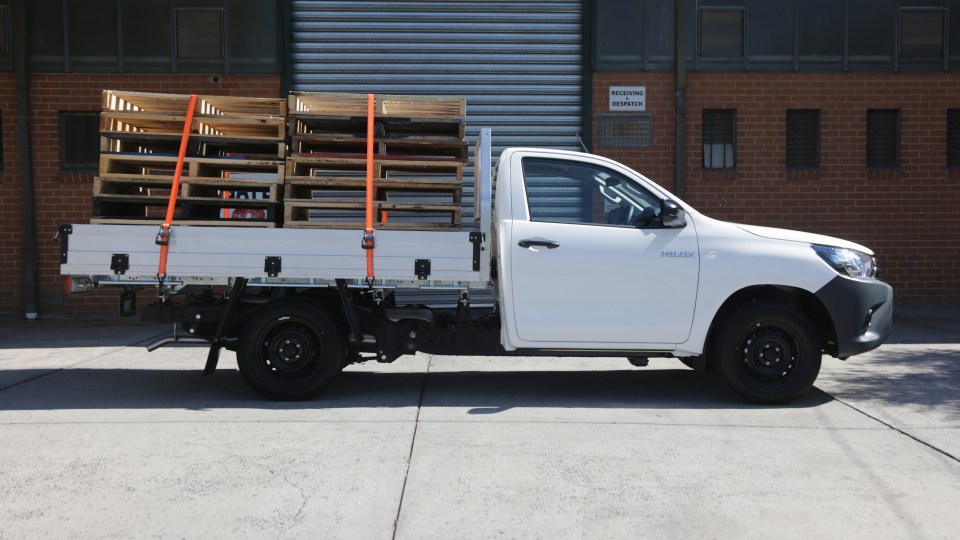 2020 Toyota HiLux Workmate review: 4×2 petrol auto-3