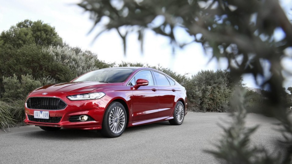 The new Mondeo is on sale now.
