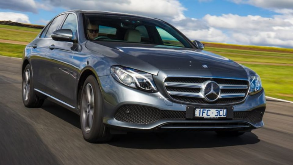 The new Mercedes-Benz E-Class won the Best Luxury Car Over $80,000 at the 2016 Drive Car of the Year Awards.