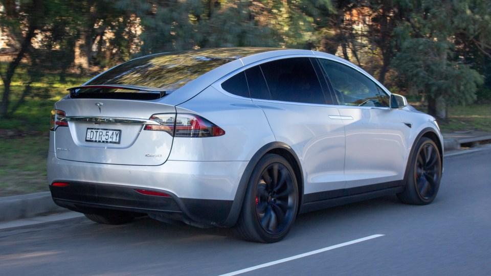 2018 Tesla Model X P100D.
