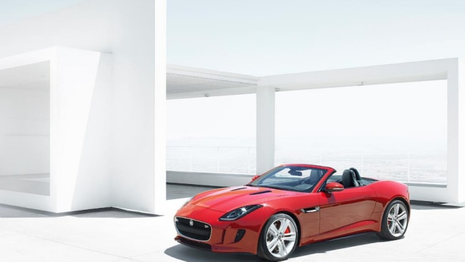 EMBARGOED 2012 Jaguar F-Type  Paris Motor Show