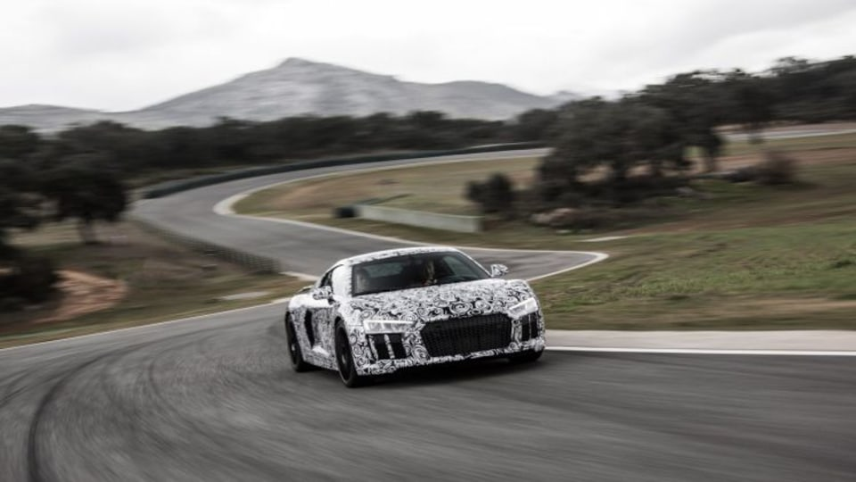 Inside the all-new Audi R8