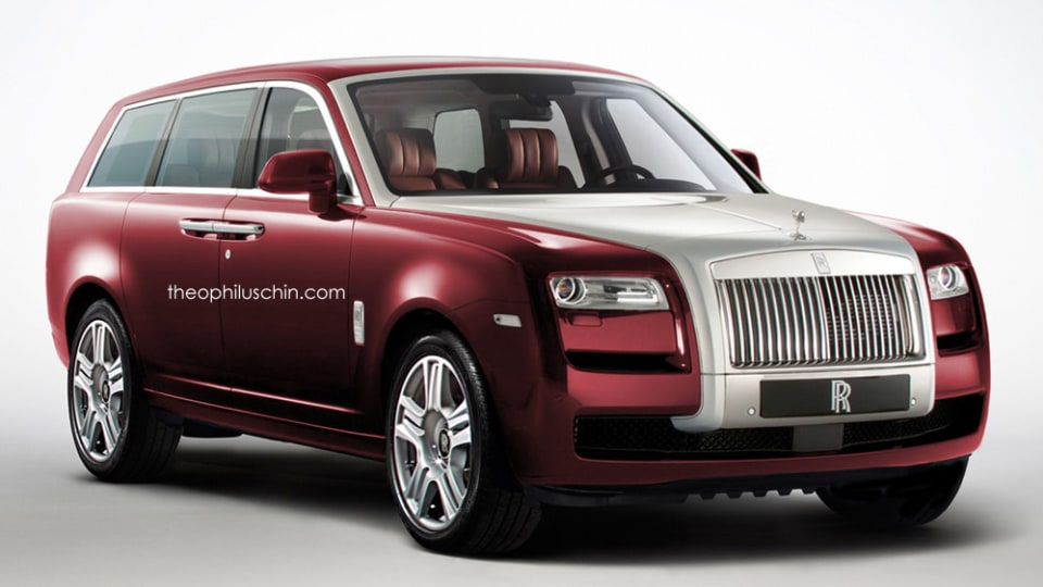 Rolls-Royce SUV Rendered, Yet One More Guess