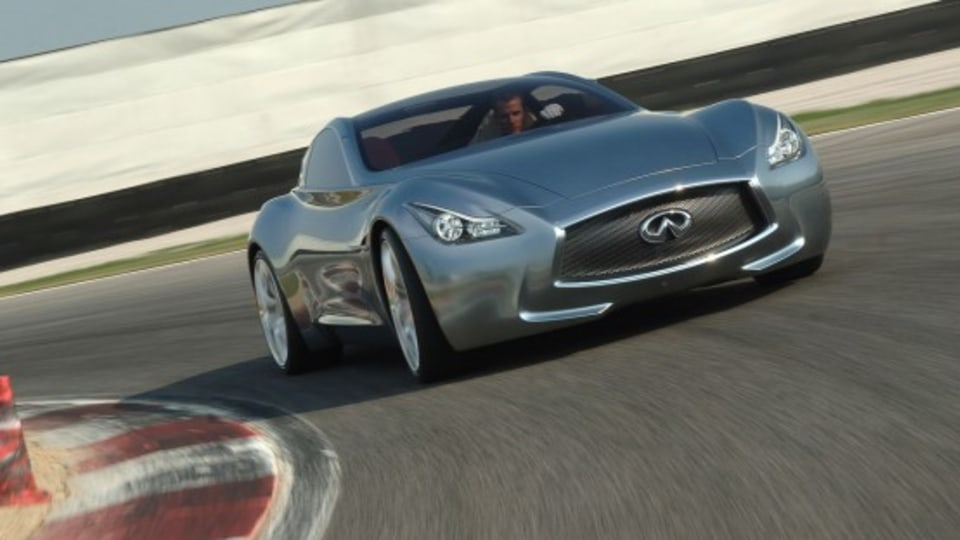 Infiniti Essence Concept To Get First Outdoors Demo Run At Goodwood