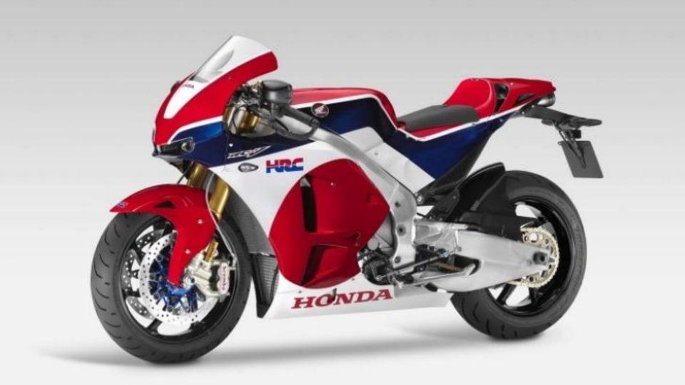 Racing heritage: Honda is considering a road-going version of its MotoGP bike.