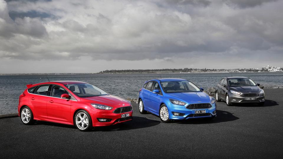 2017 Ford Focus range