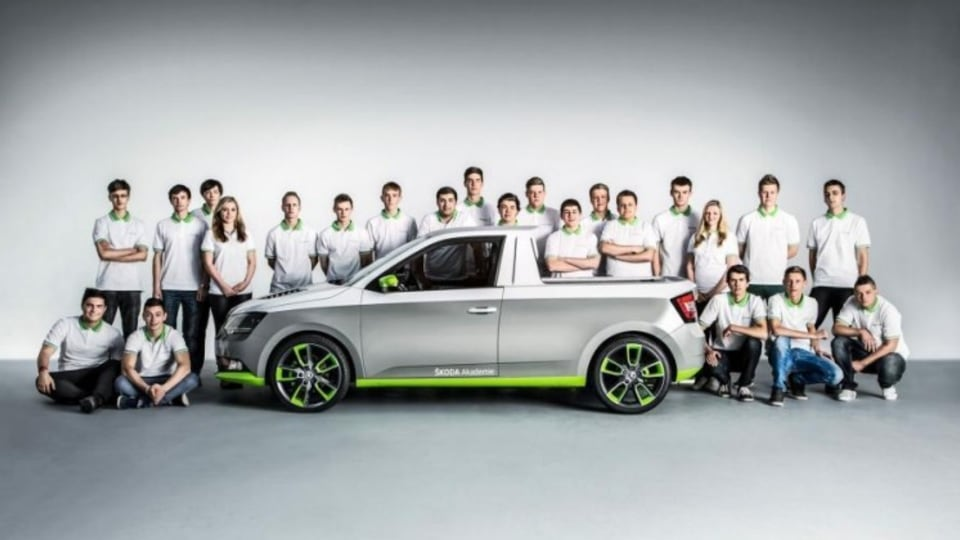 The 2015 Skoda Funstar concept is the work of the brand's future talent.