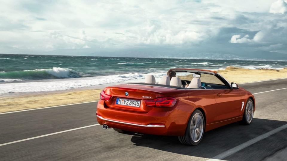 2017 BMW 4-Series Convertible.