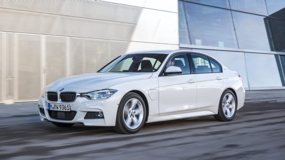 BMW will reportedly add a fully electric version of its next generation 3-Series range, adding to the current 330e plug-in hybrid pictured.