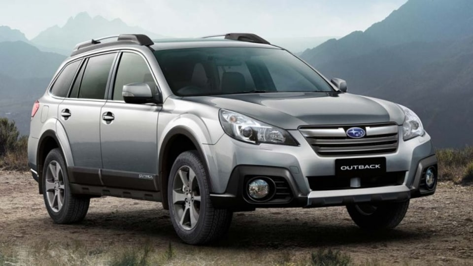 Subaru's evergreen Outback wagon has oodles of space to cart your bikes around.