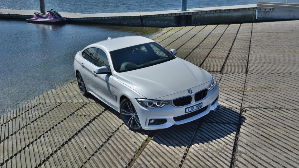 BMW 430i Gran Coupe.